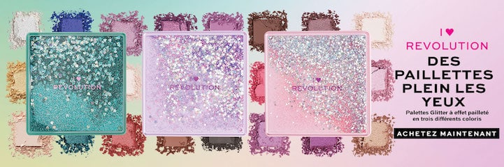 Revolution Beauty palette de maquillage
