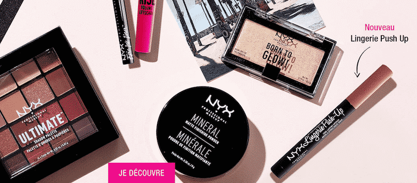 code promo NYX Professional Makeup
